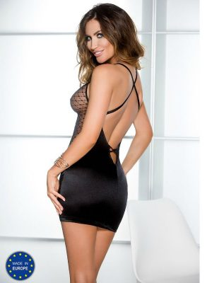 CASMIR CHEMISE DALLAS COLOR NEGRO TALLA S/M