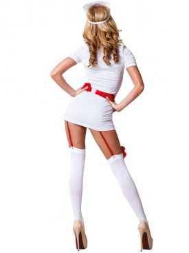 LE FRIVOLE - 02210 NURSE COSTUME 3 PIECES SET S/M