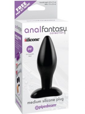 ANAL FANTASY PLUG ANAL SILICONA MEDIANO