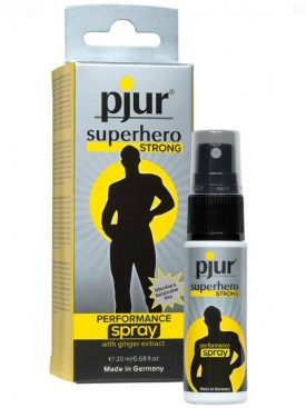 SPRAY RETARDANTE PJUR SUPERHERO 20 ML