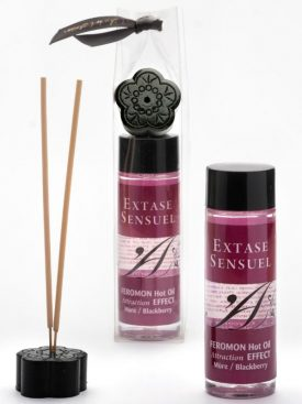 EXTASE SENSUEL FEROMON HOT OIL ATTRACTION EFFECT BLAKBERRY 100ML