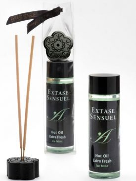 EXTASE SENSUEL HOT OIL EXTRA FRESH ICE 100ML