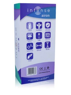 INTENSE AIRON 20 SPEEDS SILICONE PURPLE