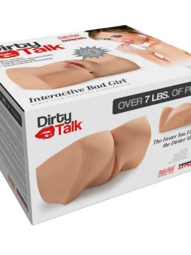 EXTREME TOYZ DIRTY TALK INTERACTIVE BAD GIRL