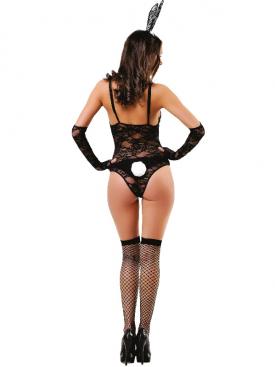 LE FRIVOLE - SEXY RABBIT GIRL 4 PIECES L/XL