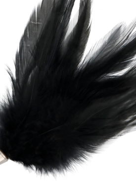 DARKNESS BLACK FEATHER 17CM