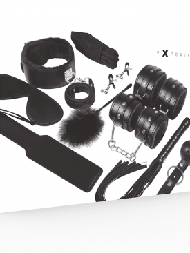 EXPERIENCE BDSM FETISH KIT SERIE BLACK