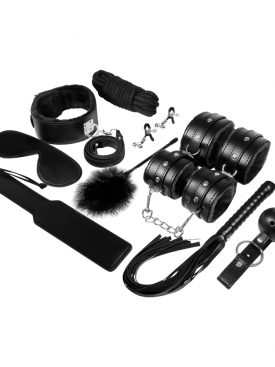 EXPERIENCE BDSM FETISH KIT BLACK SERIES