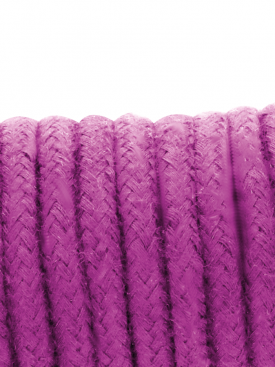 DARKNESS KINBAKU ROPE LINEN PURPLE 10 M