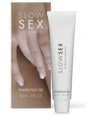 SLOW SEX GEL DE MASAJE CON DEDOS 30 ML