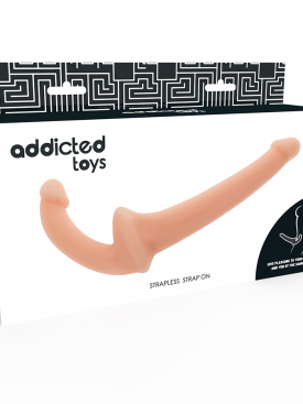 ADDICTED TOYS STRAPLESS STRAPON FLESH