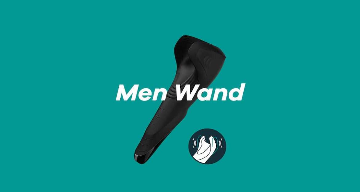 SATISFYER MEN WAND - MADISON ELCHE