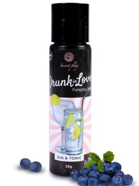 SECRET PLAY LUBRICANTE DRUNK IN LOVE GIN&TONIC 60 ML