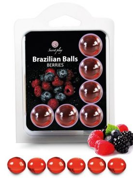 SECRETPLAY BRAZILIANS BALLS FRUTAS DEL BOSQUE