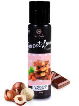 SECRETPLAY GEL SWEET LOVE CHOCOLATE CON AVELLANAS 60 ML