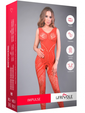 LE FRIVOLE - 04516 RED BODYSTOCKING  S/L