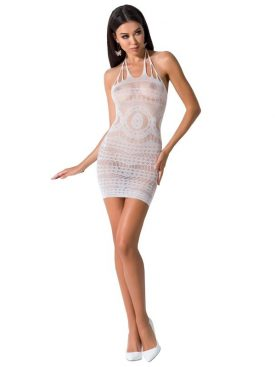 PASSION WOMAN BS063 VESTIDO BLANCO TALLA UNICA