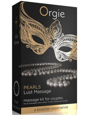 ORGIE PEARL LUST MASSAGE SET MASAJE PARA PAREJAS