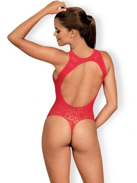 OBSESSIVE - TEDDY B120 - RED  S/M/L