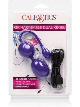 CALEX RECHARGEABLE DUAL KEGEL PURPLE