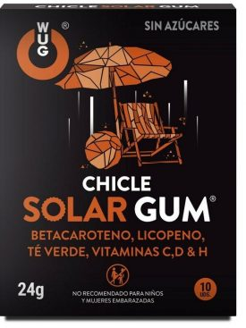 WUG CHICLE SOLAR GUM 10UDS