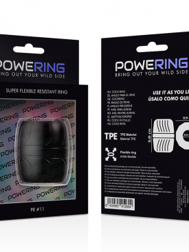 POWERING SUPER FLEXIBLE RESISTANT RING  5CM PR11 BLACK