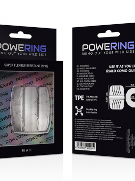 POWERING SUPER FLEXIBLE RESISTANT RING  5CM PR11 CLEAR