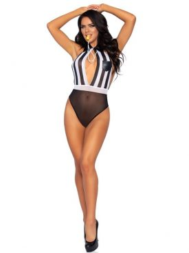 LEG AVENUE ROLEPLAY BEDROOM REFEREE COSTUME ONE SIZE